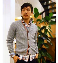Cool cardigan by SHIPS .... Japan