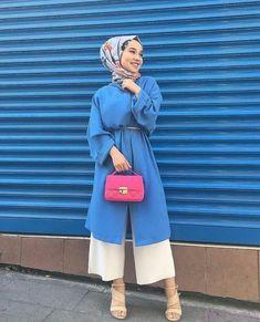 tesettur kombini onerileri 2019 – Fashion and Street Styles on Internet Hijab Style, Hijab Chic, Hijab Fashion Style, Muslim Fashion, Modest Fashion, Fashion Outfits, Casual Hijab Outfit, Hijab Dress, Dress Casual