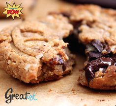 Dark Chocolate Chunk & Almond Protein Cookies