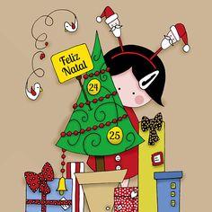 5º teaser: ilustração com tema de Feliz Natal.