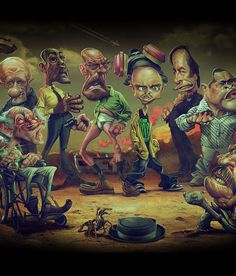 Breaking Bad awesome artwork