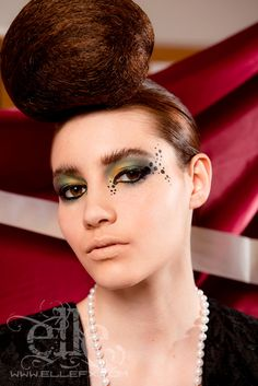Avante Garde fashion eye makeup by ~ElleFX on deviantART