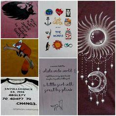 Ręcznie malowane koszulki
