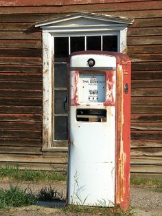 Gas Pump, Virginia City, Montana by teresue, via Flickr