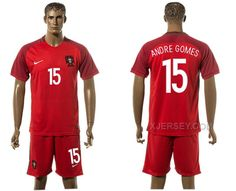 http://www.xjersey.com/portugal-15-andre-gomes-home-uefa-euro-2016-soccer-jersey.html PORTUGAL 15 ANDRE GOMES HOME UEFA EURO 2016 SOCCER JERSEY Only $35.00 , Free Shipping!