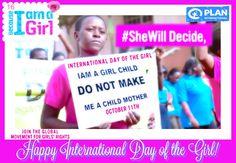 Celebrate International Day of the Girl w/plan 2 empower girls! #FM #Hillary2016 #MeatlessMonday