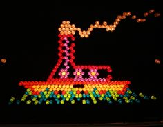 Your place to buy and sell all things handmade Lite Brite, Image Sheet, Childhood Memories, Free Printables, Christmas Ornaments, The Originals, Retro, Fun Ideas, Holiday Decor
