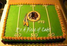 #Redskins cake
