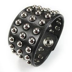 Studded Leather, Leather Cuffs, Perfect Curls, Tool Set, Quartz Watch, Watches For Men, Cuff Bracelets, Gifts, Etsy