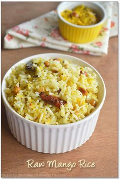 Raw Mango Rice / Maanga Sadam Recipe