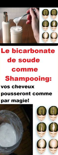 Le bicarbonate de soude comme Shampooing: vos cheveux pousseront comme par magie… Baking soda as Shampoo: your hair will grow like magic! Baking Soda Baking Powder, Baking Soda Shampoo, Baking Soda Uses, Drinking Baking Soda, Baking Soda Scrub, Hair Quality, Hair Shampoo, Dry Shampoo, Hair Health
