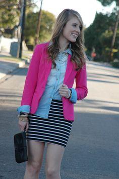 A Devine Life: pink blazer