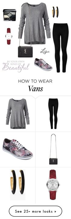 """""""Be Beautiful"""" by coolmommy44 on Polyvore featuring Wolford, Yves Saint Laurent, Vans, Chico's, Christian Dior and Burberry"""