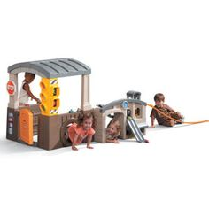 Little Tikes Race 'n Re-Fuel Pit Stop™ Playhouse -- My Son Would LOVE THIS!