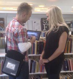 Mobile librarian; Danish library; http://modelprogrammer.kulturstyrelsen.dk/en/cases-for-inspiration/case-oerestad-library/#.Us7Db1_naM8