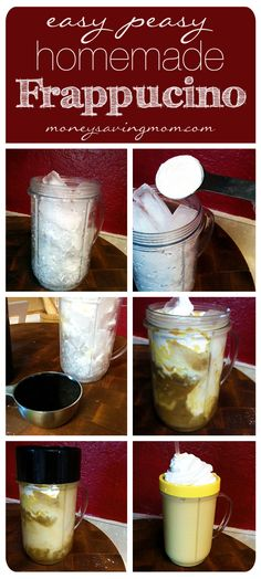 Easy-Peasy Homemade Frappucino... Can Jell-O pudding mix be substituted with anything?