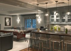 Kate Coughlin Interiors – quite the lower level!
