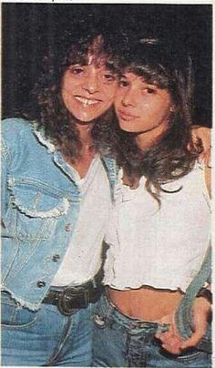 Glória Perez e a filha Daniella ❤