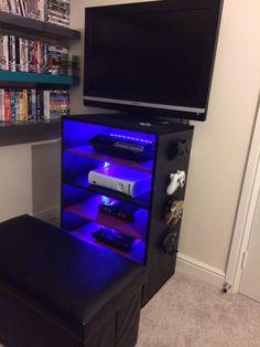 Games console storage