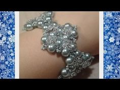 ▶ Winterglow Bracelet Beading Tutorial by HoneyBeads - YouTube