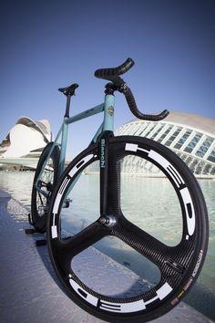 Bianchi Super Pista - HED Wheel