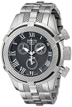 Invicta Women's 17156 Bolt Analog Display Swiss Quartz Silver Watch ** You can find more details by visiting the image link.