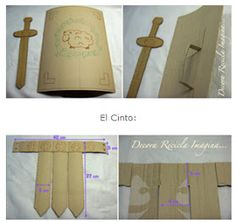 DISFRAZ INFANTIL DE SOLDADO ROMANO via www.modainfanti.blogspot.com