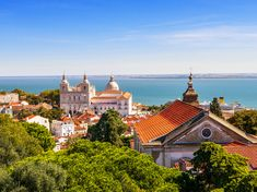 Is your heart torn between two destinations? With Transat's Lisbon & Porto in Portugal, no need to compromise! Best Places To Travel, Places To See, Weekender, Moldova, Ancient Ruins, Ancient Architecture, City Break, Old City, Lisbon Portugal