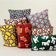 Hay Printed Cushion Cells Kissen