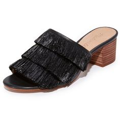 Rank & Style - Madewell Devon Fringe Sandals #rankandstyle