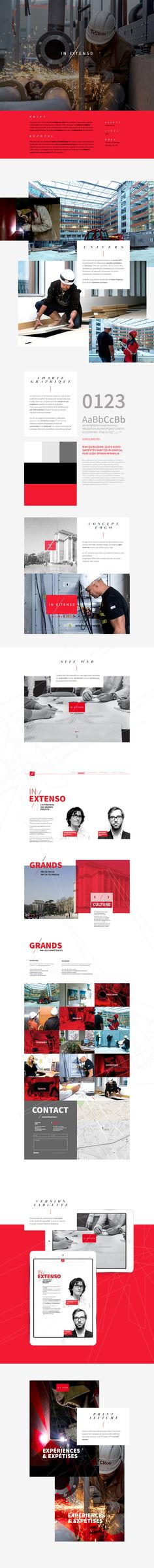 In Extenso - Léon Grosse on Behance