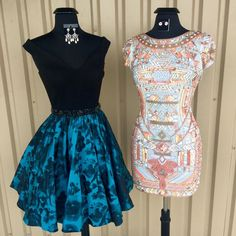 In honor of the First Official NFL Game of the Season All About The Dress showcases the Panthers vs. Broncos Homecoming style!  Who will you cheer on tonight? #allaboutthedress #becrowned #touchdown - http://ift.tt/1HQJd81
