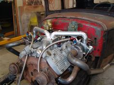 fast flathead, TwinTurbo's Old Hot Rods, Race Engines, Gasoline Engine, Vintage Race Car, Drag Cars, Car Engine, Twin Turbo, Barn Finds, Ford Trucks