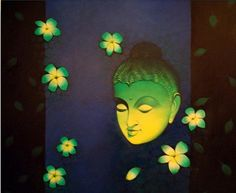 Buy Beautiful #oil #painting in #Udaipur from #Horizon #comtemporary #art #gallery.