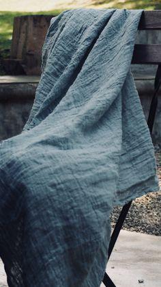 the hemp gauze warm and light material. Textile Fabrics, Textile Patterns, Linen Fabric, Cotton Linen, Fashion Web Design, Types Of Blue, Campervan Interior, Fabric Wallpaper, Wild Hearts