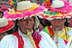 Celebrations on the Island Taquila in Titicaca lake for Peru independence day 28 july. Very colourful indeed.