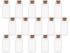Amazon.de: Alsino 20 Stück Glasfläschchen mit Korken Set Leere Mini Glas Flaschen Schnapsflaschen Sandfläschchen, Variante wählen:GF-02 2 cm x 5 cm, bitte die Maße genau beachten