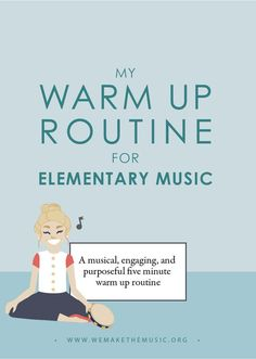 Warm Up Routine for Elementary Music — Victoria Boler Elementary Choir, Elementary Music Lessons, Music Lessons For Kids, Music Lesson Plans, Kindergarten Lesson Plans, Singing Lessons, Piano Lessons, Singing Tips, Kids Music