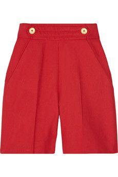 Shorts by Yves Saint Laurent.