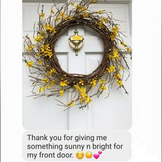 Beautiful and rustic grapevine Spring Wreath that will add some vibrant color to your front door. Perfect wreath to welcome in Spring! Rustic Coasters, Stone Coasters, Front Door Decor, Wreaths For Front Door, Door Wreath, Reclaimed Wood Signs, Barn Wood Signs, Primitive Wreath, Primitive Decor
