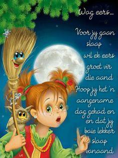 Evening Greetings, Afrikaanse Quotes, Good Night Blessings, Goeie Nag, Good Night Quotes, Special Quotes, Sleep Tight, Positive Thoughts, Tinkerbell