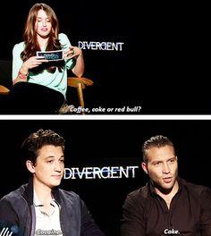 That's why he so hyper ~Divergent~ ~Insurgent~ ~Allegiant~