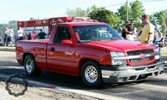 Street outlaws chiefs red truck