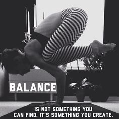 Balance. fitness