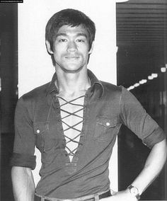 """Bruce Lee is a personal hero of mine for he demonstrated what it means to be a truly compassionate human being. He not only gave out advice but actually lived a life according to his values. The fact that he was able to accomplish so much in such a short amount of time gives inspires me greatly. He truly was an """"artist of life."""