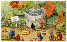 The Tea Shop by Racey Helps. Love this one especially!