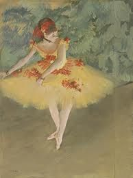 Edgar Degas- Dancer Making Point