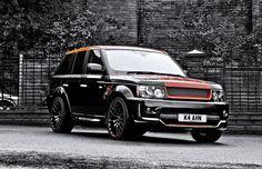 Custom Range Rover via A. Kahn Design
