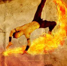 Fire bender Zuko