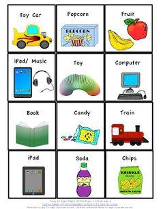 "Autism Classroom News: ""He can't talk."" Communication freebie!"